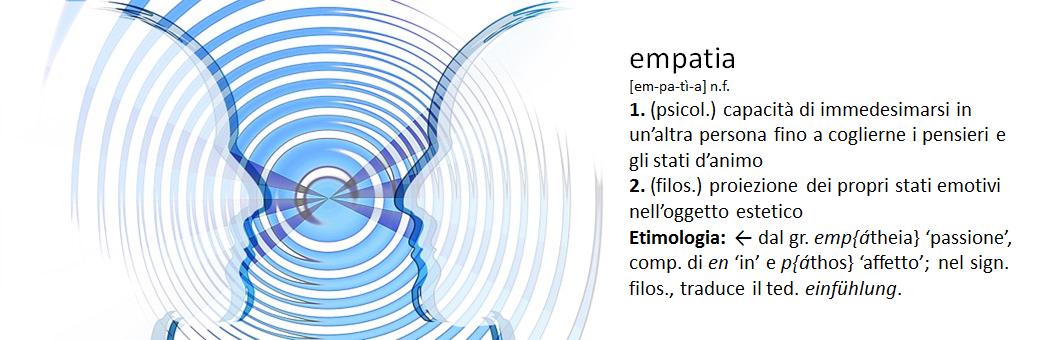 Definizione di empatia2