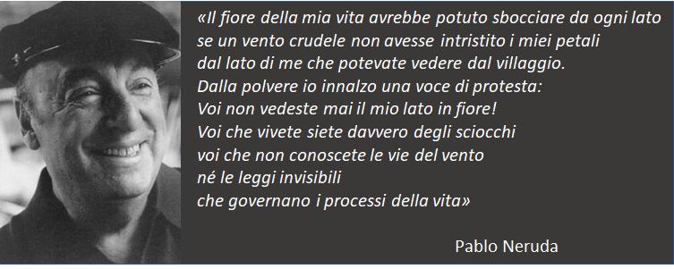 Pablo Neruda - Fiore
