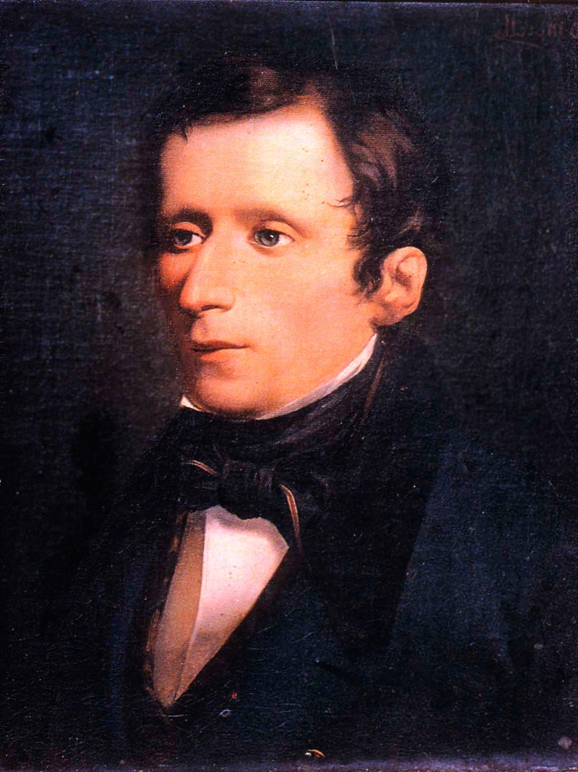 Giacomo Leopardi ritratto