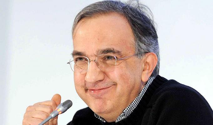Sergio Marchionne viso sorridente